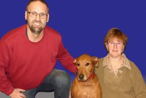 die Trainer Thomas, Bonnie und Karin